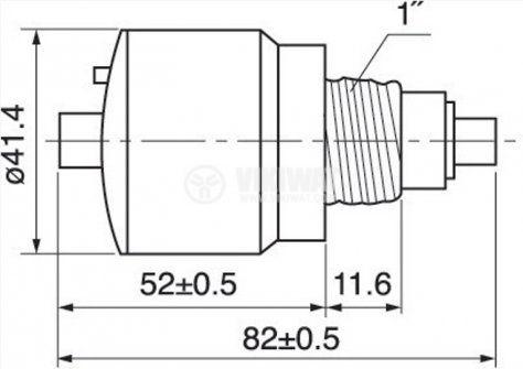 Предпазител, автоматичен, еднополюсен, 1x16A, L16A, C крива, E27 - 2