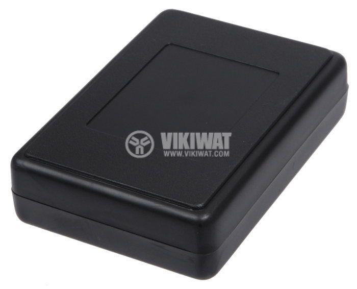 Кутия Z-23A ABS черна 84x59x22 - 1