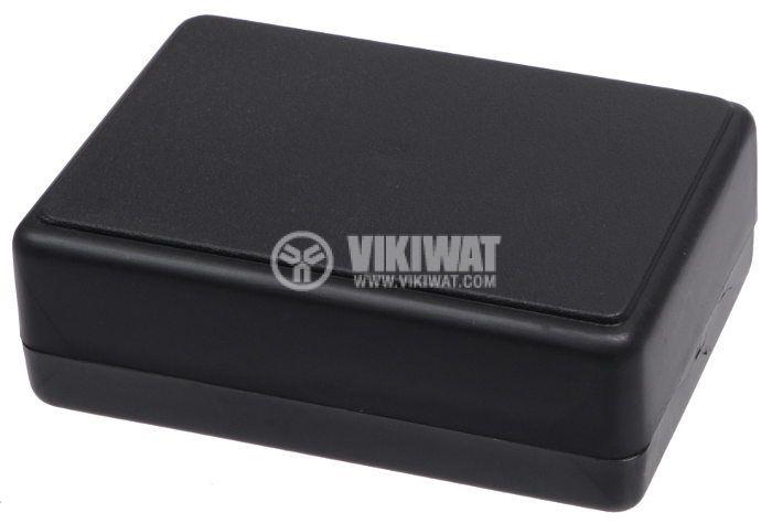 Кутия Z-23 полистирен черна 84x59x30 - 1