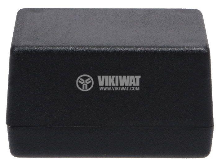 Кутия Z-24 пластмасова черна 66x47x38 - 2
