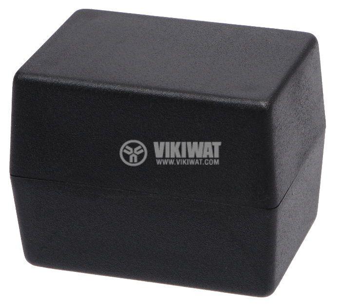 Кутия Z-24B полистирен черна 66x47x52 - 1
