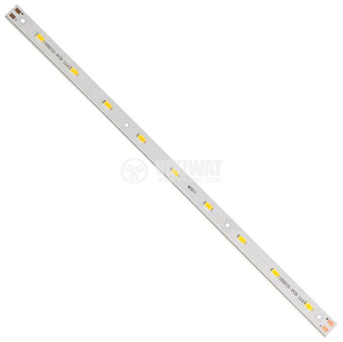 LED твърда лента SMD5630, 4.5W, 12VDC, IP20, топлобяла, 270mm - 1