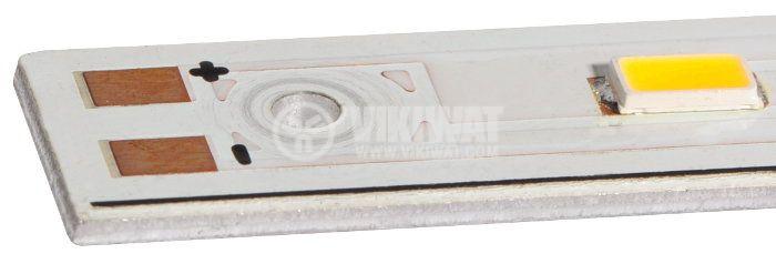 LED твърда лента SMD5630, 4.5W, 12VDC, IP20, топлобяла, 270mm - 3