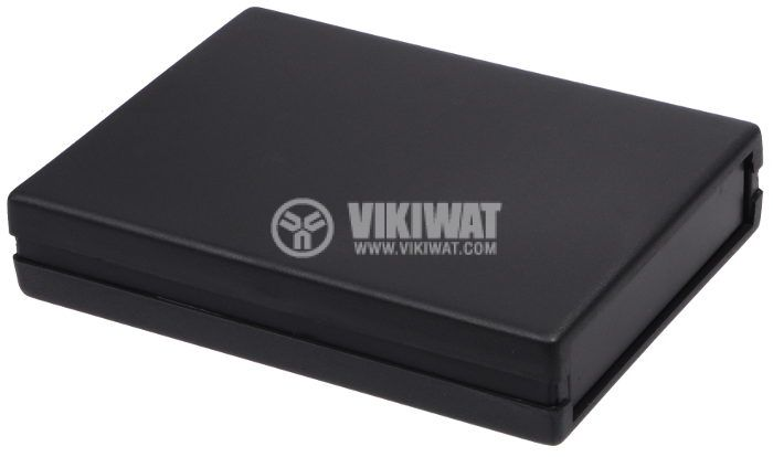 Кутия Z-19 полистирен черна 120x94x27 - 1
