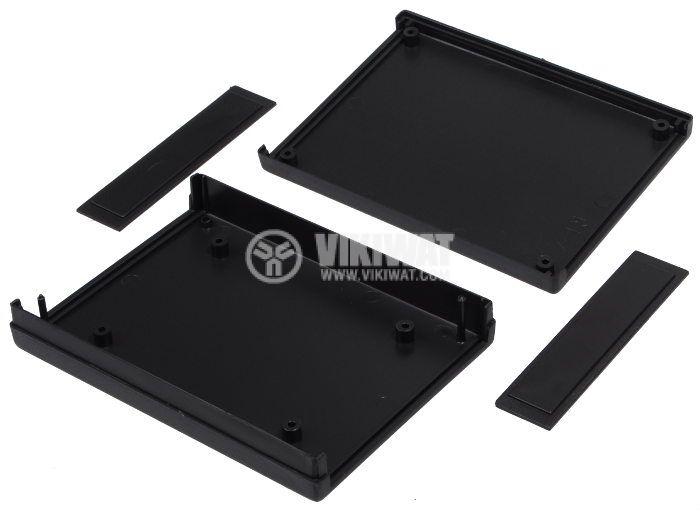Кутия Z-19 полистирен черна 120x94x27 - 2