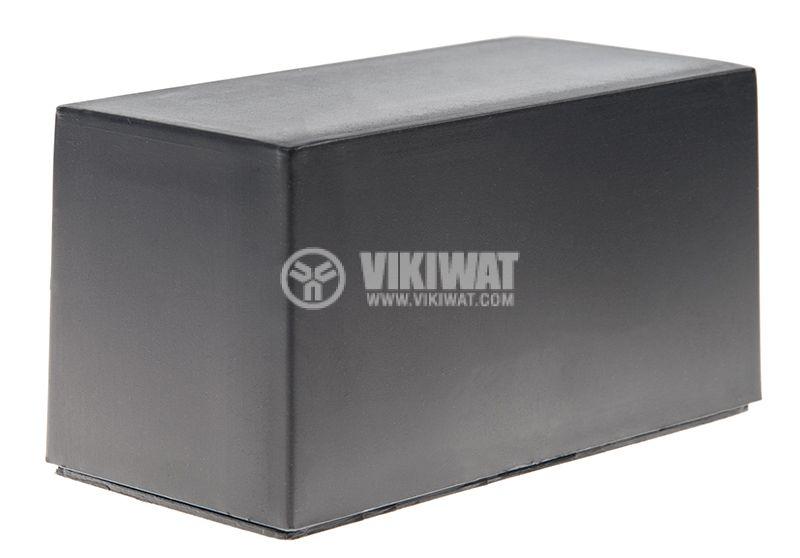Кутия Z-8A полистирен черна 37x70x34