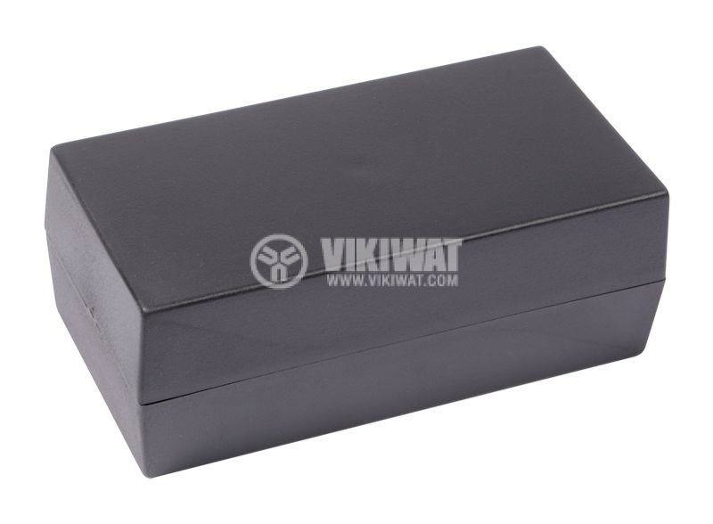 Кутия Z-7C полистирен черна 106x55x40 - 1