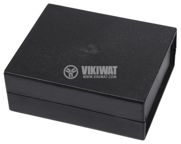 Кутия Z-5 от полистирен, черна 110x90x40 - 1