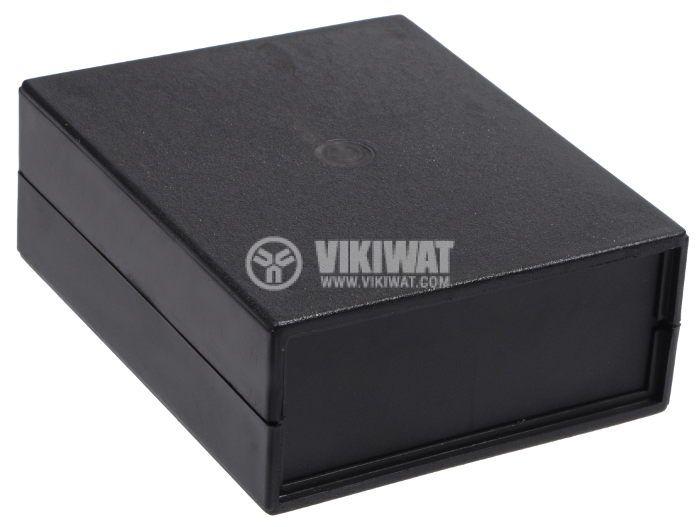 Кутия Z-5 от полистирен, черна 110x90x40 - 2