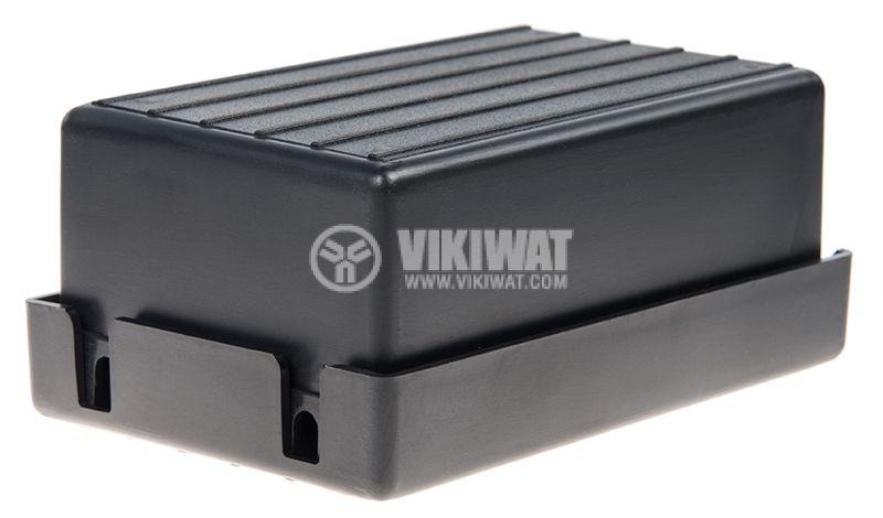 Черна пластмасова кутия Z-12 - 3