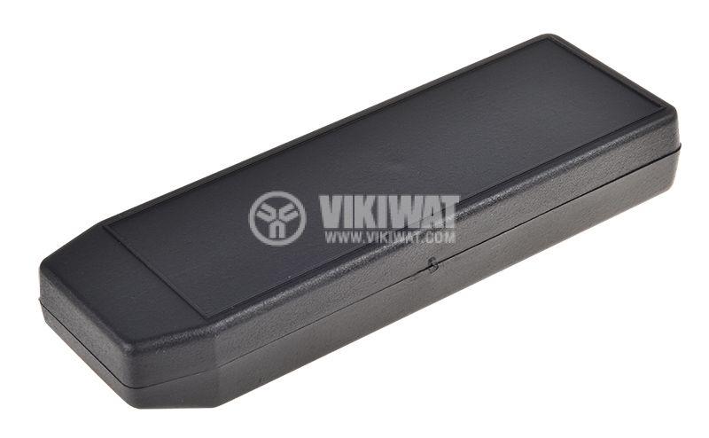 Кутия Z-14, полистирен, черна, 149x49x22mm - 1