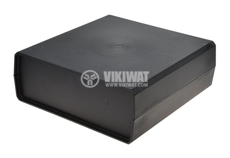 Кутия Z-1P полистирен черна 198х188х70mm - 1