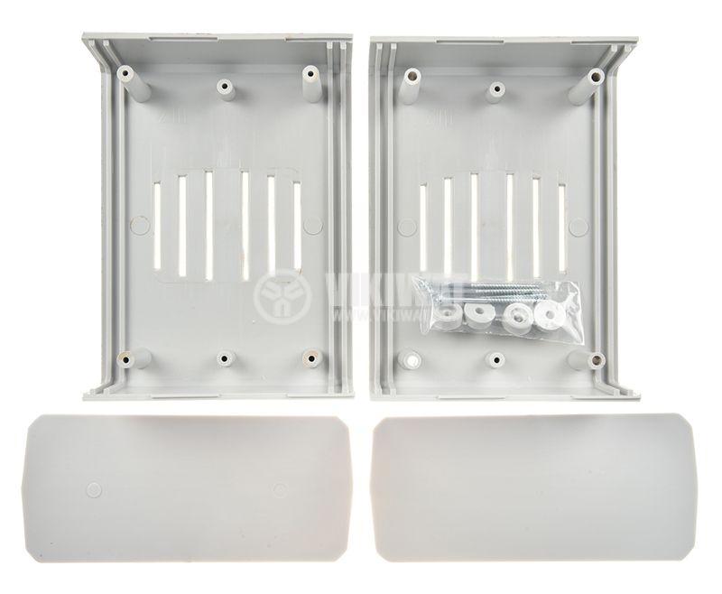 Кутия полистирен 148.6x110x71 сива универсална  - 2