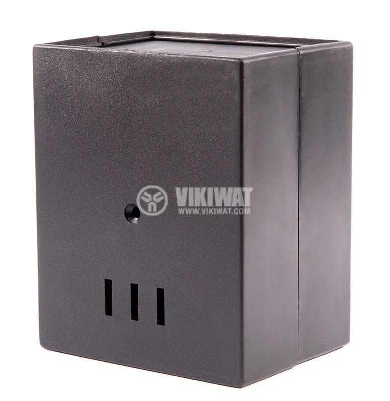Кутия Z-3A, полистирен, черна 110x89x68mm - 3