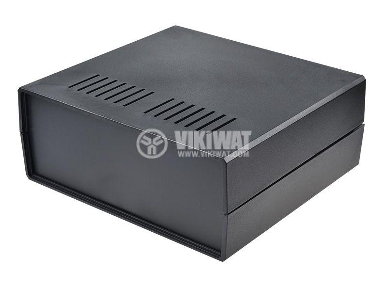 Кутия Z-17, полистирен, черна 217x237x94 - 1