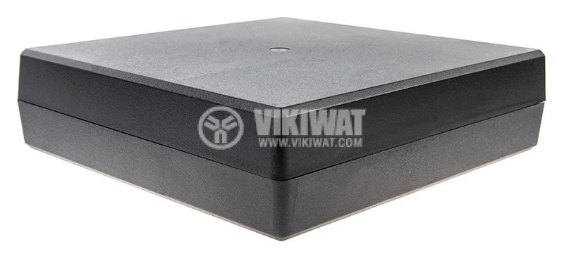 Кутия Z26, полистирен, 221x219x60mm, черна, универсална - 1