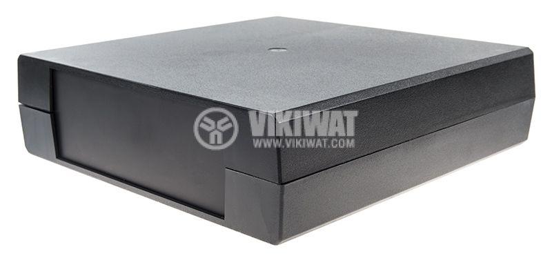 Кутия Z26, полистирен, 221x219x60mm, черна - 4