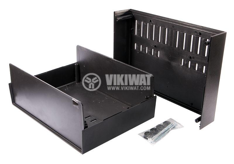 Кутия Z-39, полистирен, черна, 216x297x118mm - 2