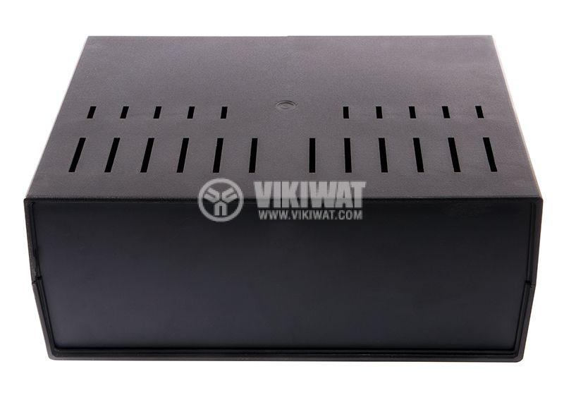 Универсална кутия Z39W Kradex, полистирен, черна, 216x297x118mm - 3