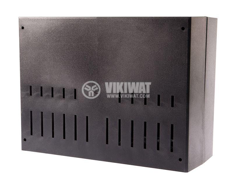Кутия за електроника, Z-39, полистирен, черна, 216x297x118mm - 5
