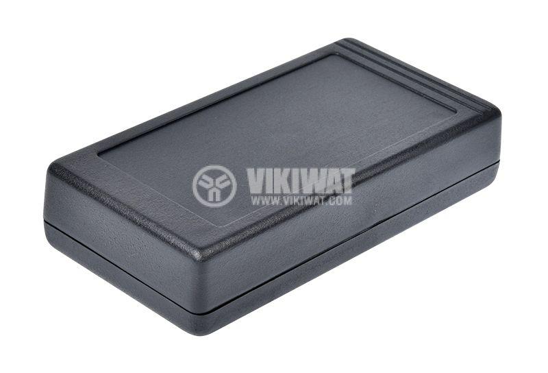 Кутия Z-34, полистирена, черна, 130x67x29mm - 1