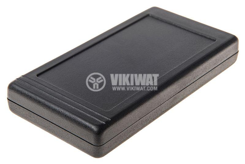Кутия Z-34А, полистирен, черна, 130x67x20mm - 1