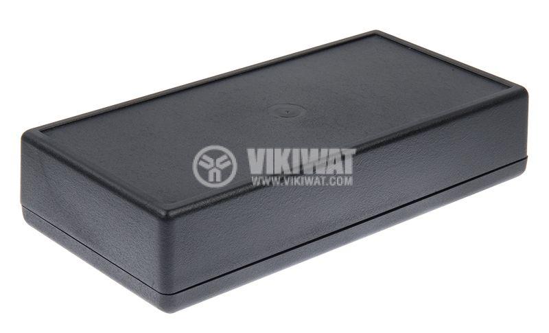 Кутия Z-38, полистирен, черна, 170x84x36mm - 1