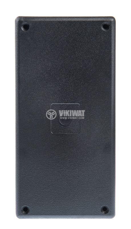 Кутия Z-38, полистирен, черна, 170x84x36mm - 2