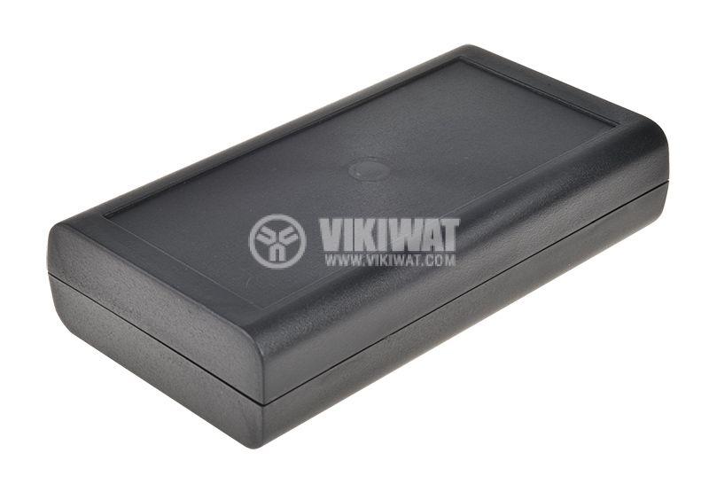 Кутия Z-44, ABS, 150x80x33mm, черна - 1