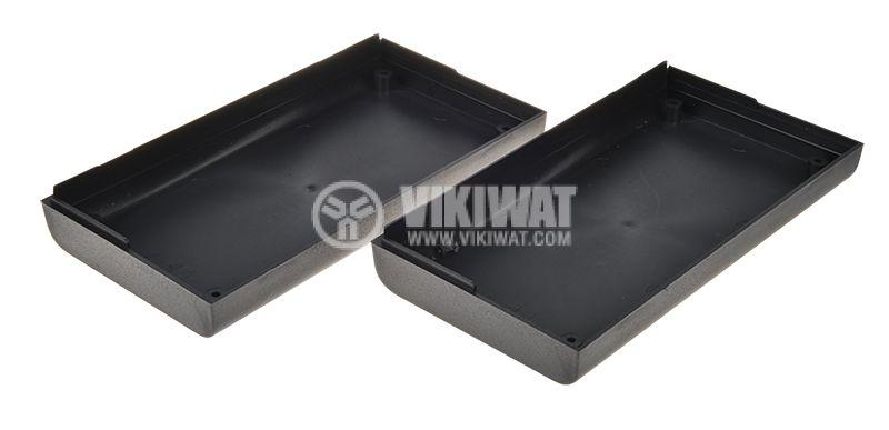 Кутия Z-44, ABS, 150x80x33mm, черна - 2