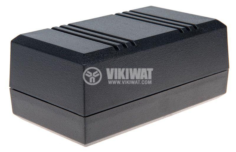 Кутия Z-45P полистирен черна 100x56x43 - 1