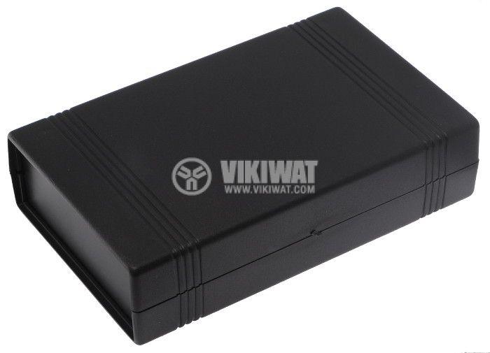 Кутия Z-50A/KP43A полистирен черна 147x92x37 - 1