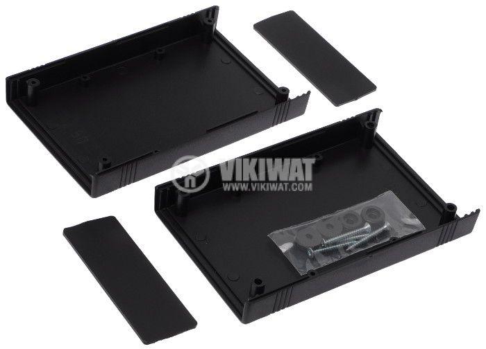 Кутия Z-50A/KP43A полистирен черна 147x92x37 - 2