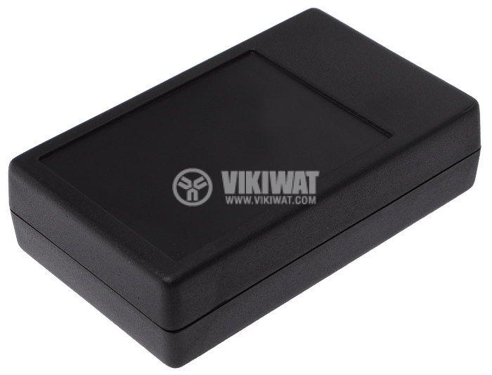 Кутия Z-55 полистирен черна 104x63x28 - 1