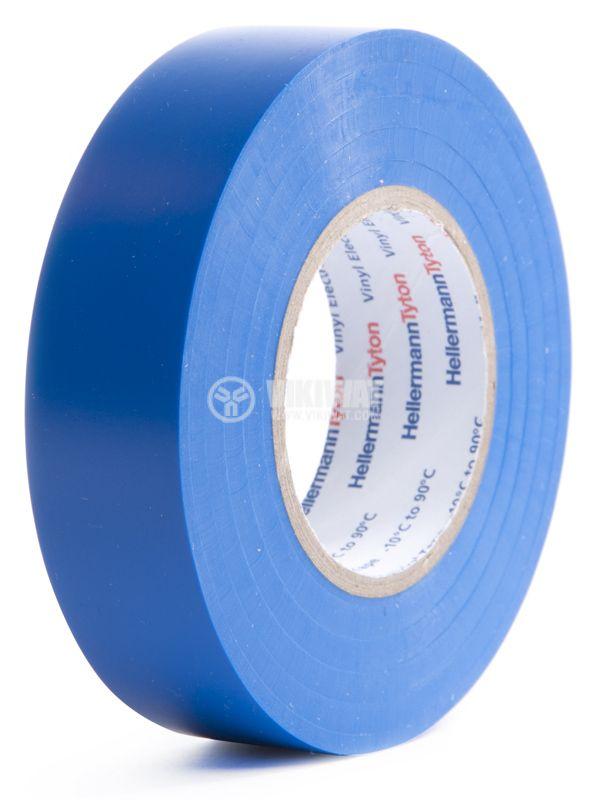 PVC INSERT BAND HTAPE-FLEX15-19x20-PVC-BU, 19MM X 20M, Blue - 1