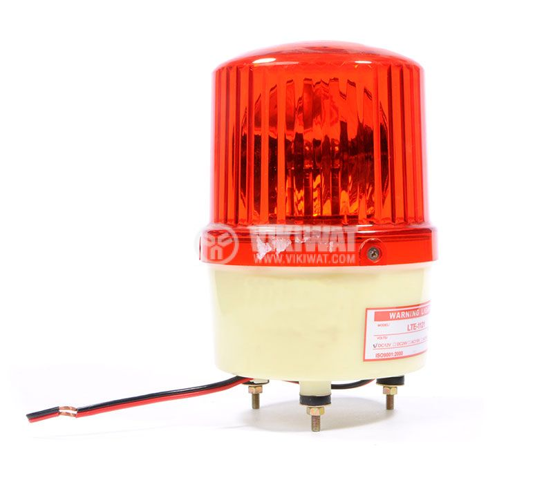 Signal rotating beacon, LTE-1121, 24VDC, 10W, red - 1