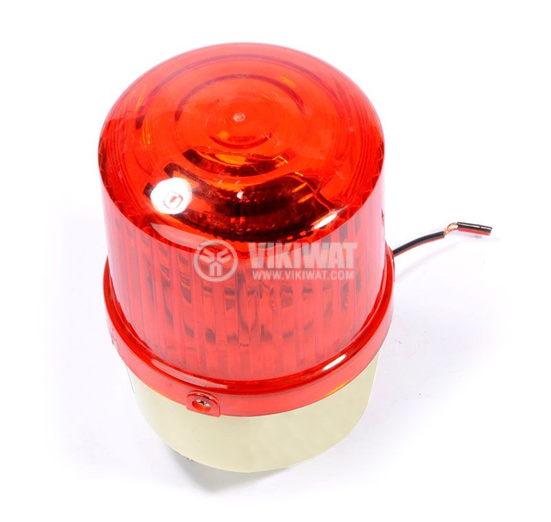 Signal rotating beacon, LTE-1121, 24VDC, 10W, red - 2