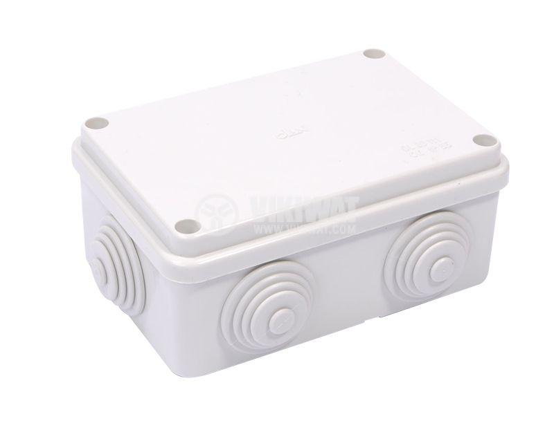 Разклонителна кутия, 120x80x50mm, Olan, OL20111, IP55 - 1