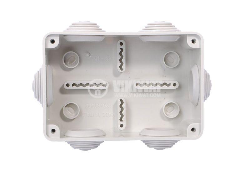 Разклонителна кутия, 120x80x50mm, Olan, OL20111, IP55 - 2