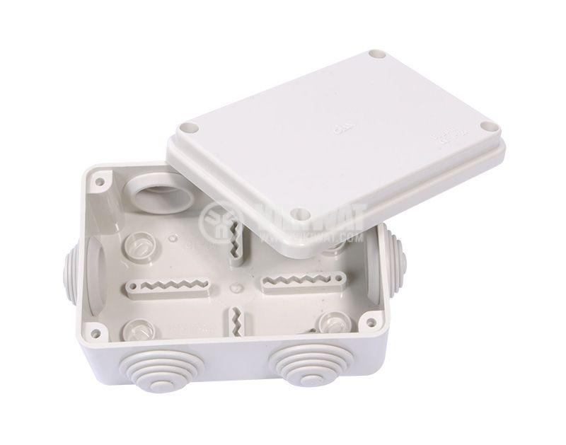 Разклонителна кутия, 120x80x50mm, Olan, OL20111, IP55 - 3