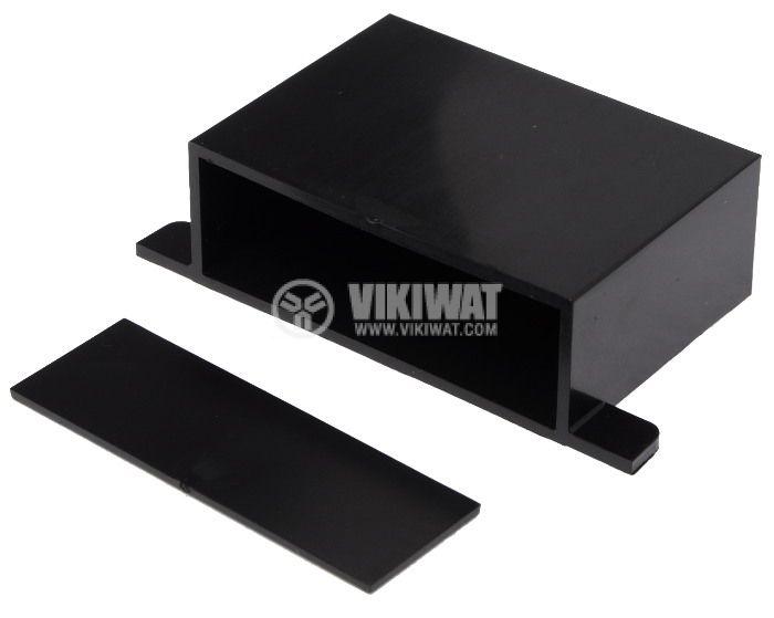 Кутия KM-25 ABS черна 70x50x25