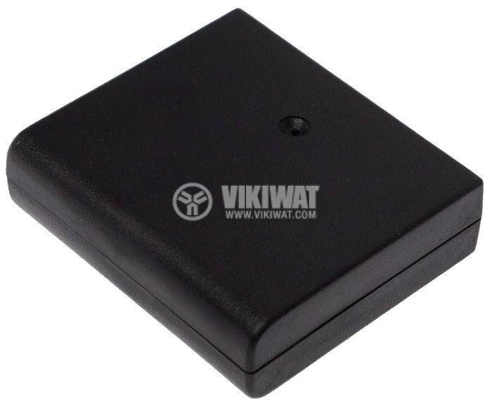 Кутия KM-19 68x60x20 пластмасова черна - 2