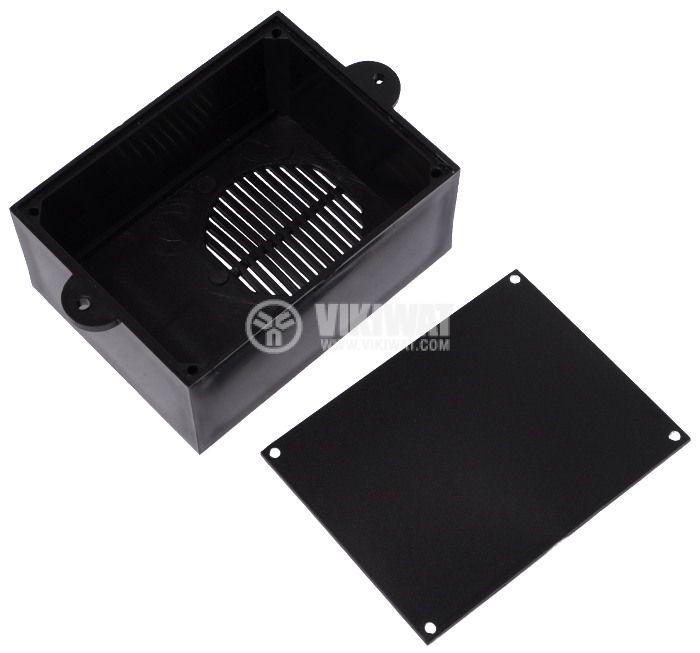 Кутия KM-36 ABS черна 85x64x36 - 2