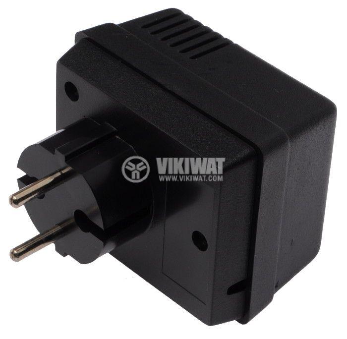 Enclosure box KM-48 ABS 70x50x34 black - 1