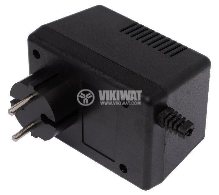 Кутия KM-49 ABS черна 90x65x57 - 1