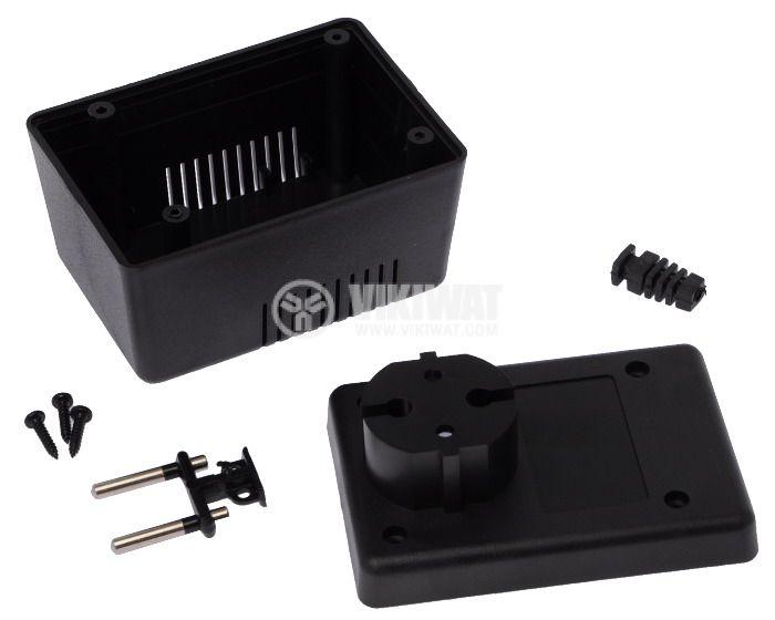 Кутия KM-49 ABS черна 90x65x57 - 2
