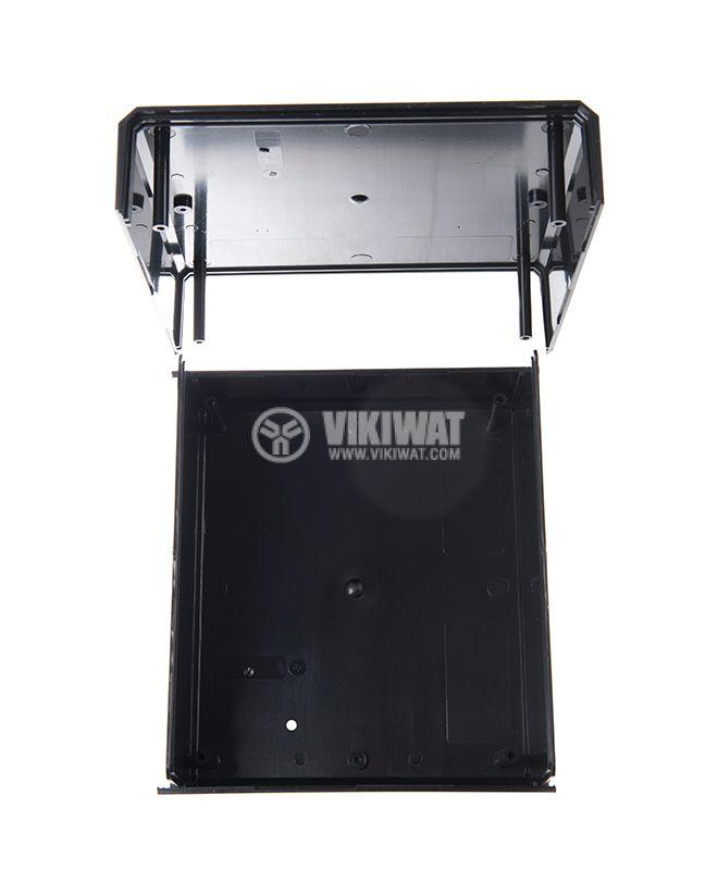 Кутия KM-85 полистирен черна 180x160x85 - 2