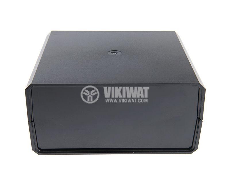 Кутия KM-85 полистирен черна 180x160x85 - 3