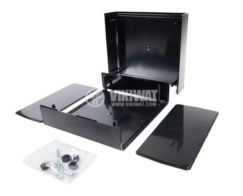 Кутия KM-85 полистирен черна 180x160x85 - 4