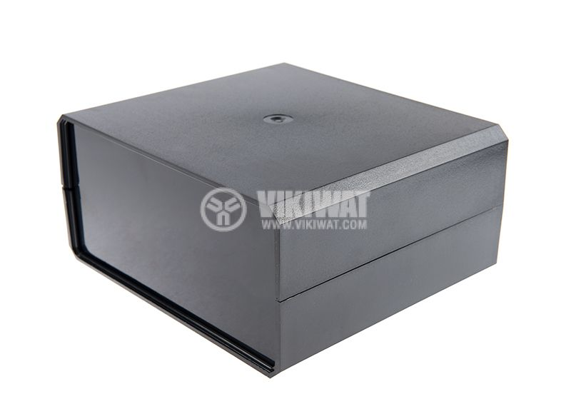 Кутия KM-85 полистирен черна 180x160x85 - 1